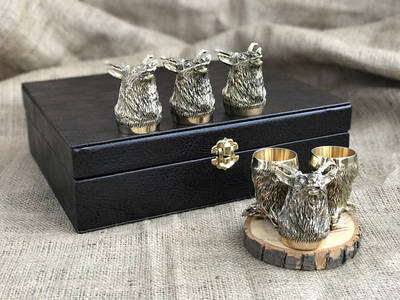 VIP набори бронзових стопок