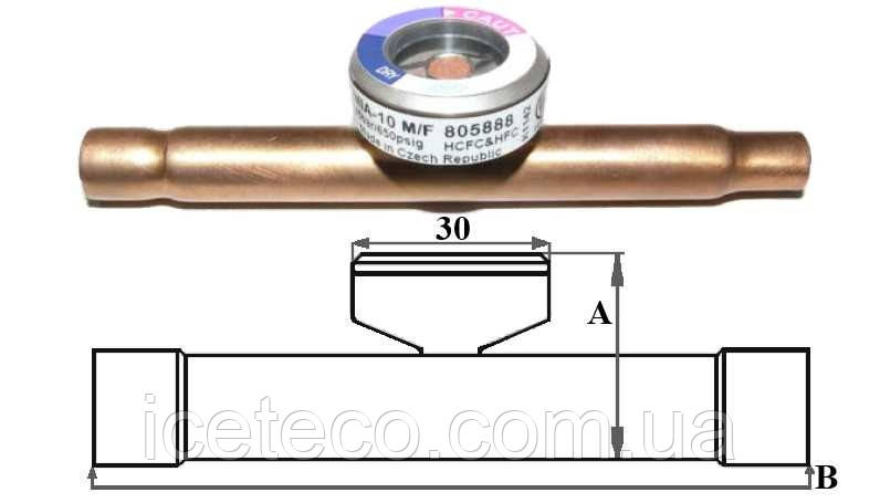 Индикаторы влажности MIA 118 (805892) Alco controls