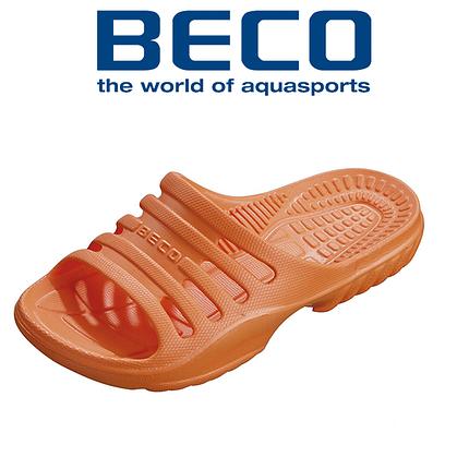 Тапочки пляжные детские BECO 90651 3 оранжевый, фото 2