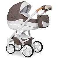 Универсальная детская коляска 2в1 Riko Brano Luxe 01 Mocca