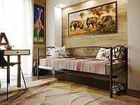 Односпальная металлическая кровать ДАРИНА ЛЮКС ( DARINA LUX ) 90х200