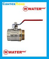 Кран Кульовий 2 Water Pro DN 50 PN 20 ГШР
