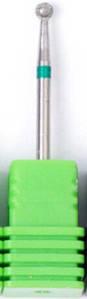 Насадка алмазна кулька, середня насічка зелений 3,0 мм