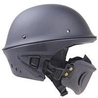 Шлем мотоциклетный со съемным клапаном ZR-999.