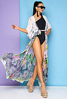 Пляжная туника-халат длинная в 6ти цветах JD Sunny
