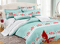 Семейное постельное белье поплин РС049 с комп. TM TAG