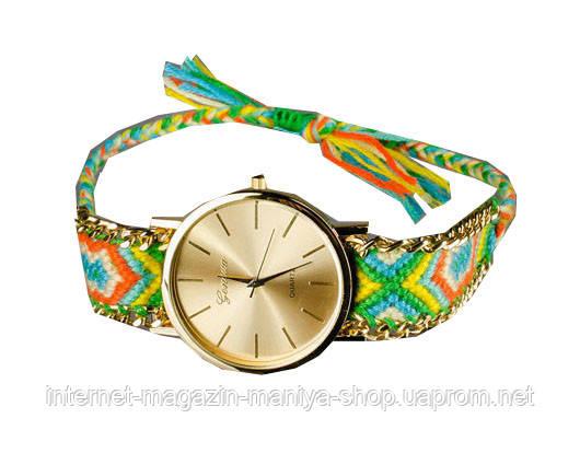 """Модные часы Geneva ремешок """"феничка"""""""