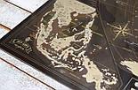 Шоколадная скретч карта мира 3-в-1 My Map Chocolate Edition ENG для любителей кофе и шоколада, фото 8