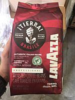 Кофе в зернах Lavazza Tierra Brasile Intense 1кг (крепкий). Лавацца Оригинал, Италия!