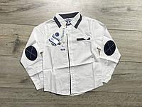 Катоновая рубашка для мальчиков. 4- 14 лет.