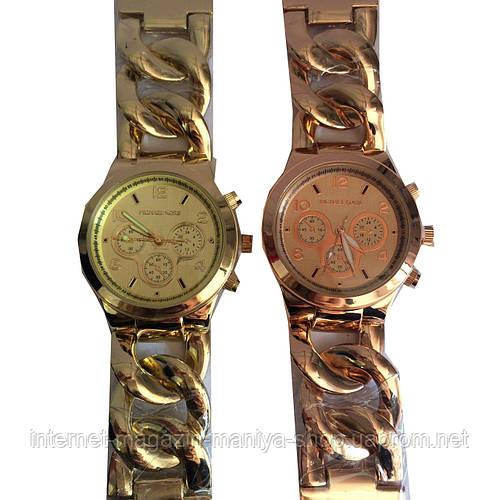 """Часы Michael Kors """"цепи"""" круглый циферблат"""