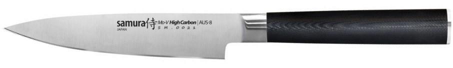 Кухонный нож Samura Mo-V универсальный 125 мм Black (SM-0021)