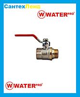Кран Кульовий 3/4 Water Pro DN 20 PN 20 ГШР