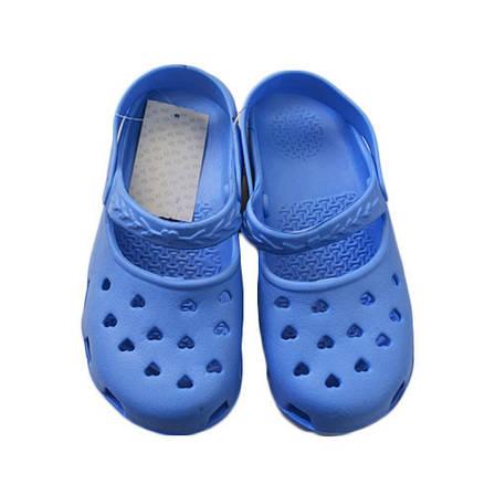 Тапочки детские пена 725, синий, фото 2