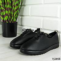 """Мокасины женские, черные """"Fabusi"""" эко кожа, кроссовки женские, кеды женские, повседневная обувь"""