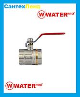 Кран Кульовий 1-1/4 Water Pro DN 32 PN 20 ГГР