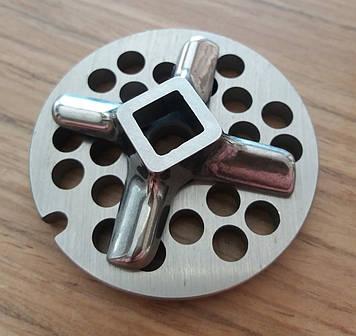 Комплект нож и решетка  для мясорубки Bosch Champion