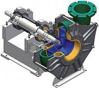 Одноступенчатые центробежные насосы Aurum Habermann для лёгких и средних режимов эксплуатации серии NPW