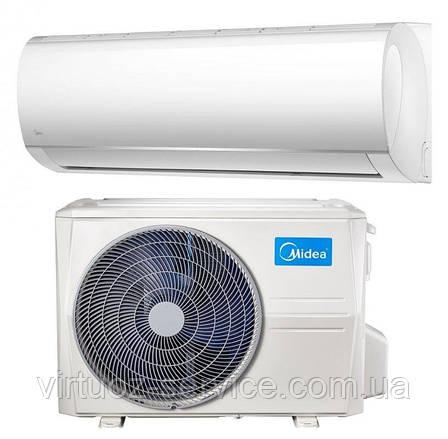Инверторный кондиционер Midea Blanc DC Inverter MA-09N1DOHI-I/MA-09N1DOH-O, фото 2
