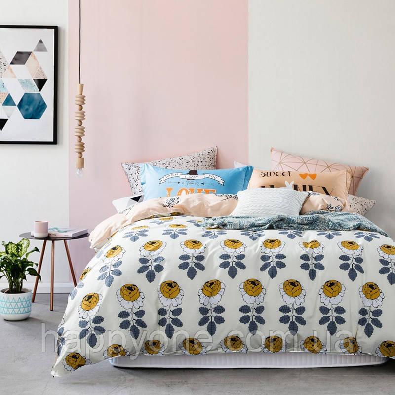 Комплект постельного белья Rose Garden (двуспальный-евро)