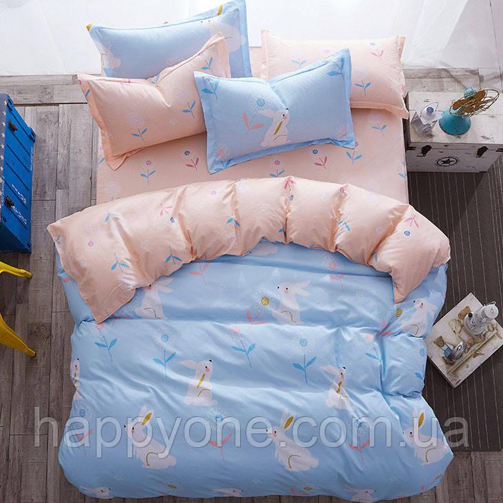 Комплект постельного белья Rabbit (двуспальный-евро)