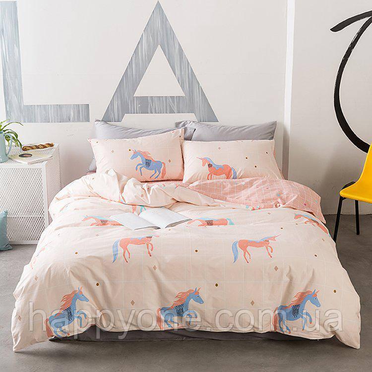 Комплект постельного белья Unicorn (двуспальный-евро)
