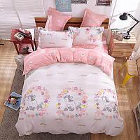 Комплект постельного белья Unicorn (двуспальный-евро), фото 1