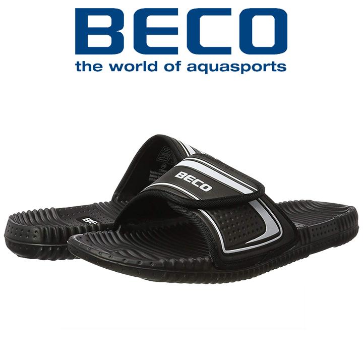 Тапочки массажные BECO 90601 011 чёрный/серебряный