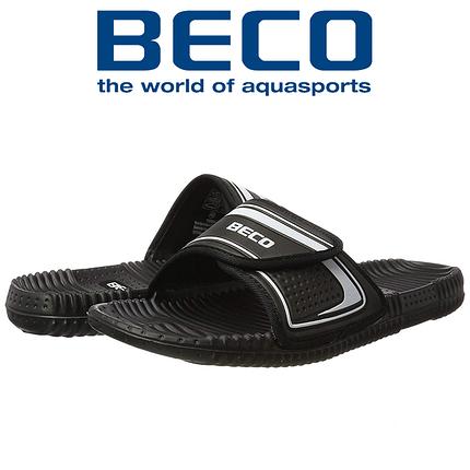 Тапочки массажные BECO 90601 011 чёрный/серебряный, фото 2