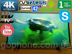 "Изогнутый телевизор Samsung 42"" UltraHD 4К Smart TV DVB-T2/DVB-С ГАРАНТИЯ!"