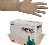 Рукавички ProFeel MICRO хірургічні латексні, тонкі, неопудрені, коричневого кольору, фото 3