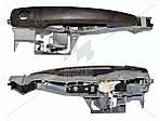 Ручка двери наружная для CITROEN C3 2009-2016 9109A7 + 9101KW, 9684560080