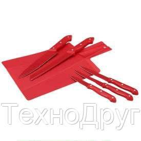 Красный набор ножей Renberg RB-2598-RD