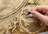 Старовинна скретч карта світу My Map Special Edition ENG 61*43 см Карта в старовинному стилі, фото 5