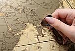 Старовинна скретч карта світу My Map Special Edition ENG 61*43 см Карта в старовинному стилі, фото 4