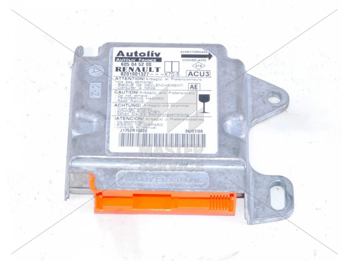 Блок управления AIRBAG для Renault Master II 1998-2010 8201001327