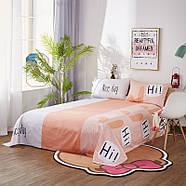 """Комплект постельного белья """"Кролик"""" (двуспальный-евро), фото 6"""