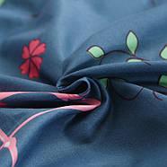 """Комплект постельного белья """"Розовый фламинго"""" с простынью на резинке (двуспальный-евро), фото 4"""