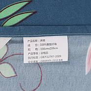 """Комплект постельного белья """"Розовый фламинго"""" с простынью на резинке (двуспальный-евро), фото 9"""