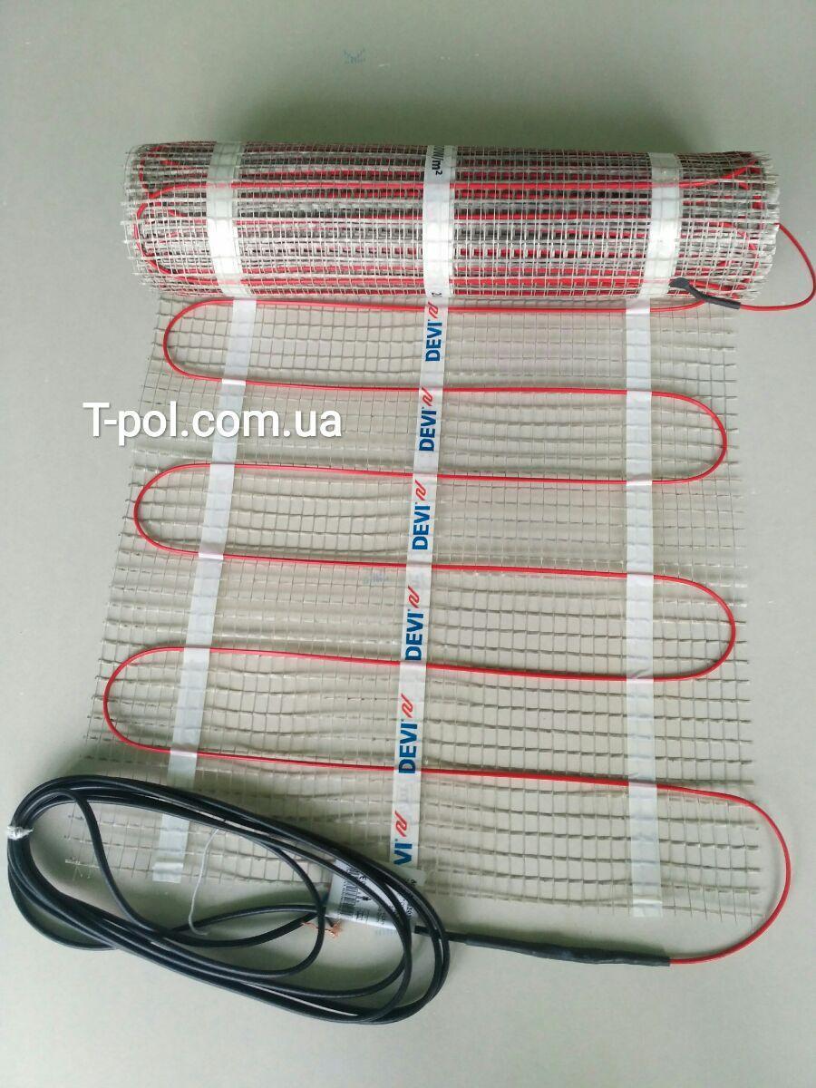 Теплый пол повышенной мощности Devimat 200t на 4,95 м2 для лоджии, санузла и полов без теплоизоляции