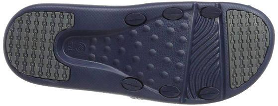 Тапочки массажные мужские BECO 90617 7 тёмно-синий/серый, фото 3