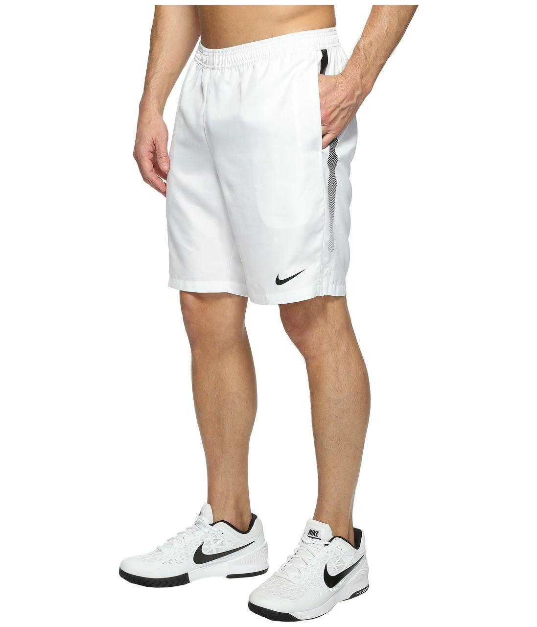 aa91bf2f Шорты Nike Court Dry 9 White - Оригинал — в Категории