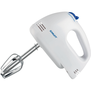 Ручной миксер Scarlett SC-HM40S03 200Вт белый
