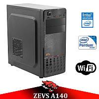 НЕДОРОГОЙ ОФИСНЫЙ ПК ZEVS PC A140 500GB + Wi-Fi Клавиатура +Мышка!