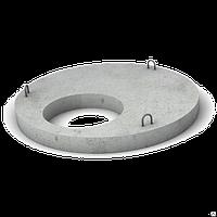 Плита перекрытия колодцев КЦП (с отв) 1,0 м
