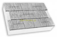 "Термопанели SunRock  ""Щепа"" 600х400х50 мм/ Пенопласт  100мм, Белый цемент"