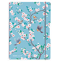 Блокнот Herlitz My.Book Flex А4 2х40 листов клетка+линия Ladylike Birds