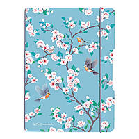 Блокнот Herlitz My.Book Flex А5 40 листов клетка Ladylike Birds