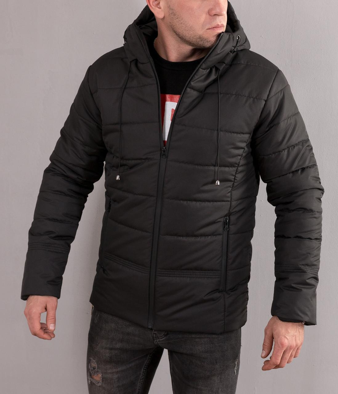Мужская молодежная зимняя куртка