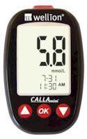 Акційний набір Глюкометр Wellion CALLA mini + тест-смужки №50, Австрія